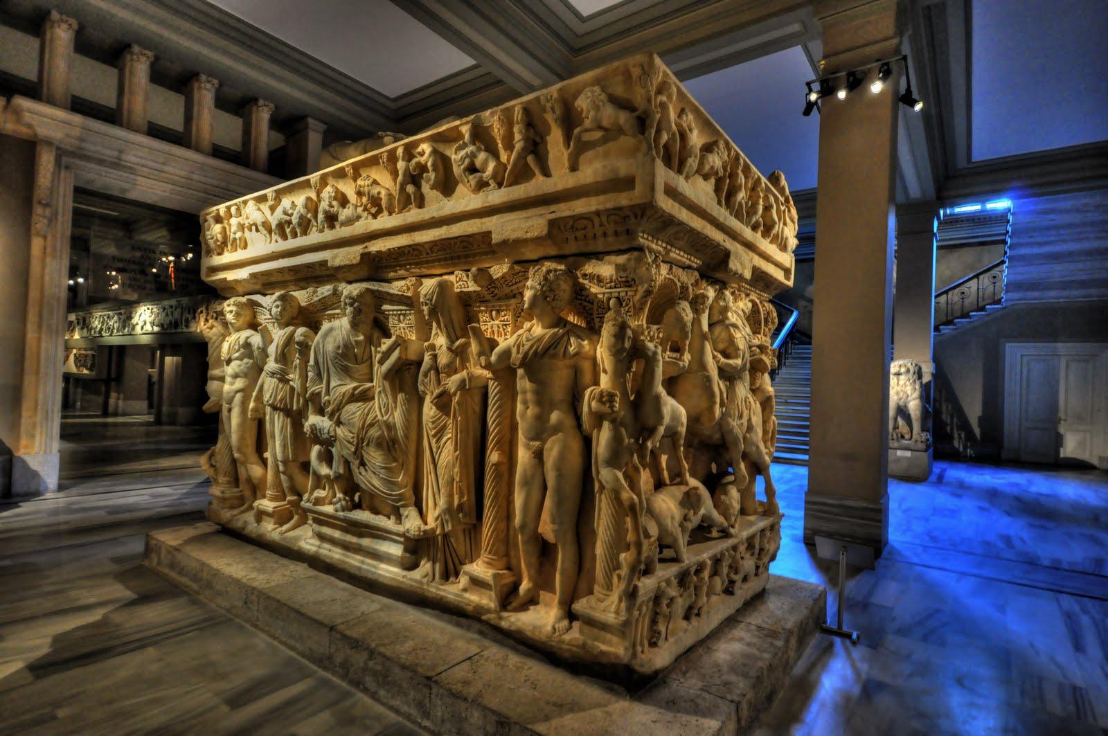 المتحف الاثري في اسطنبول