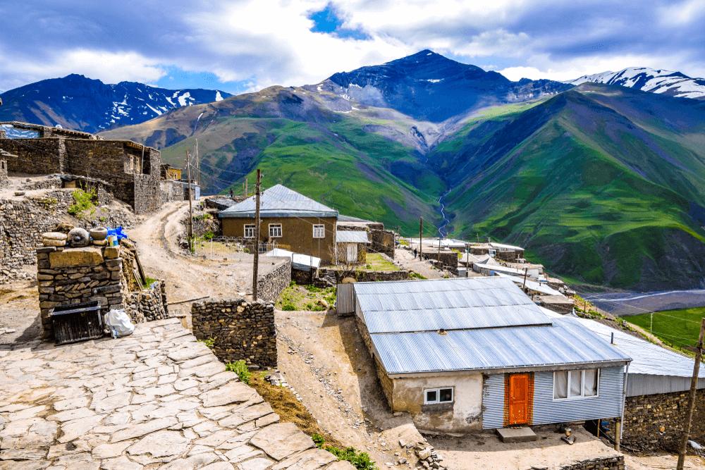 الطبيعة في قوبا اذربيجان