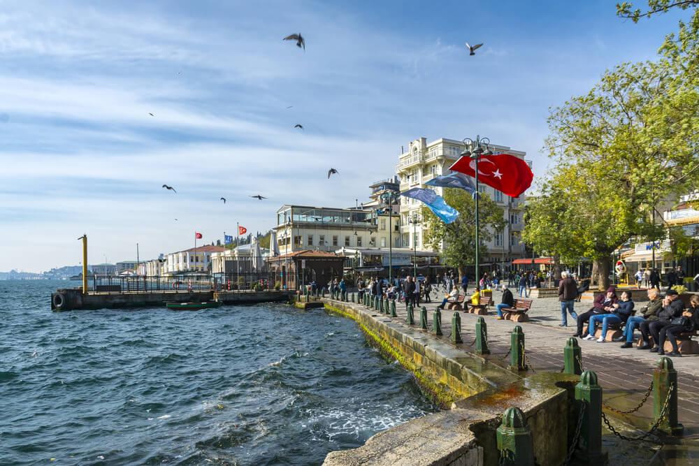إطلالة منطقة اورتاكوي اسطنبول