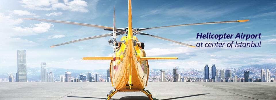 جولة الهليكوبتر في اسطنبول