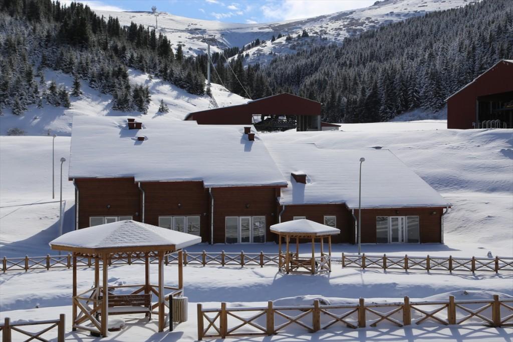مركز التزلج الجديد في اوردو تركيا