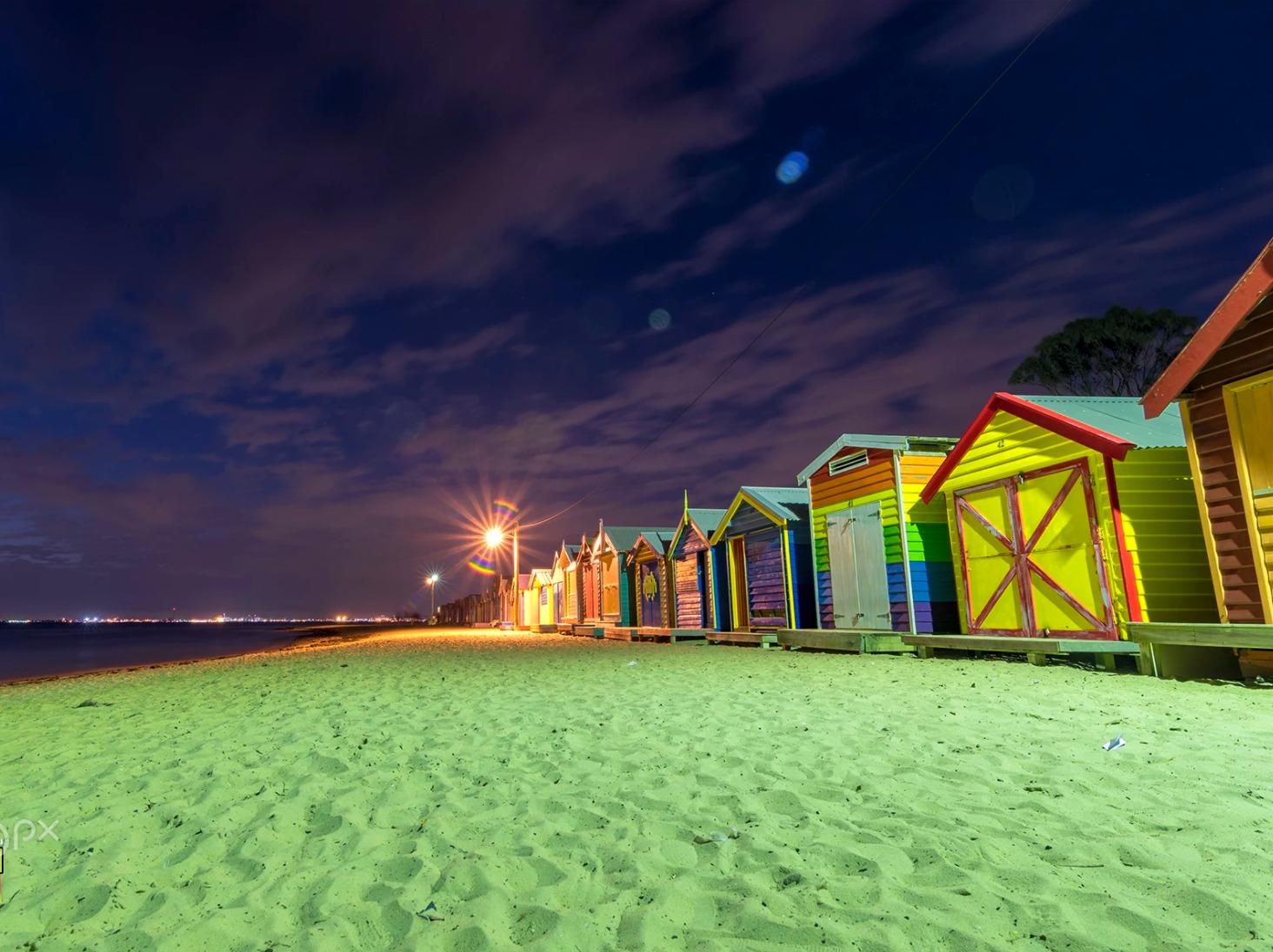 الشاطئ الصافي في جوندا