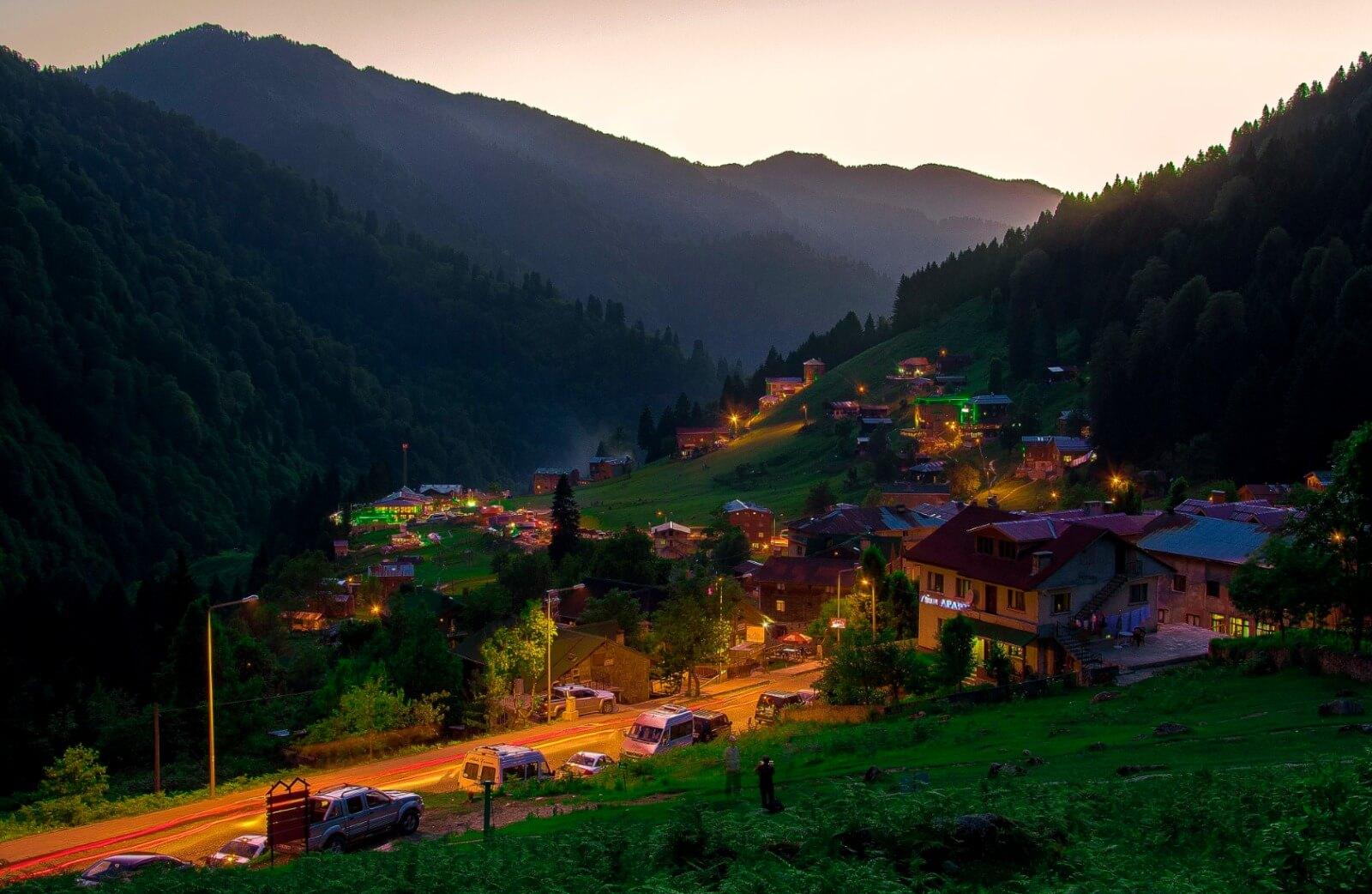 مدن الشمال التركي - حيدر نبي