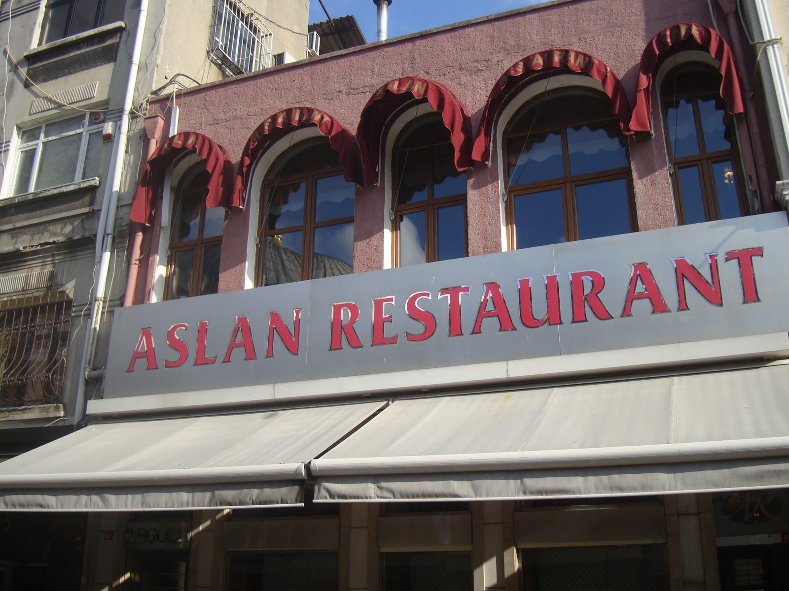 مطعم اصلان في اسطنبول