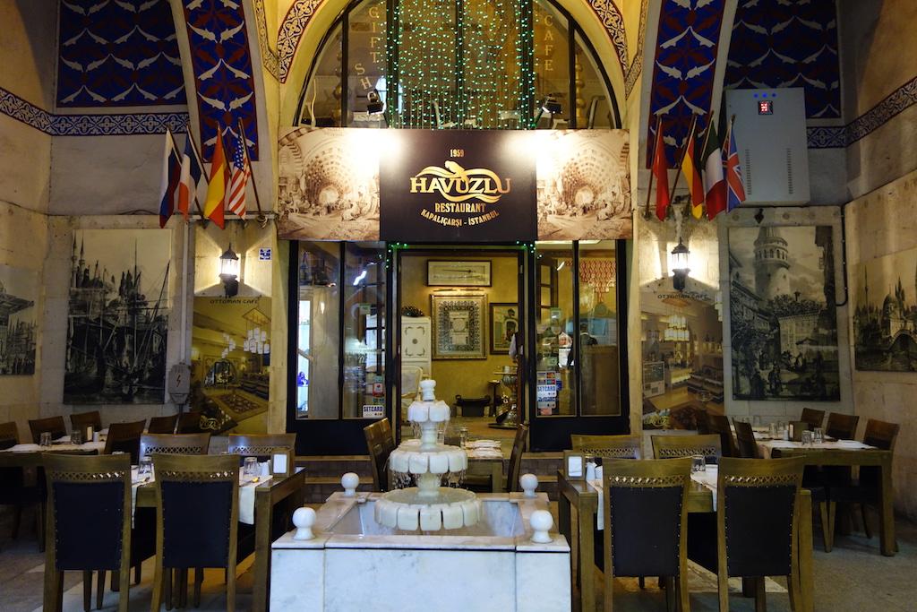 مطعم حاووظلو في اسطنبول