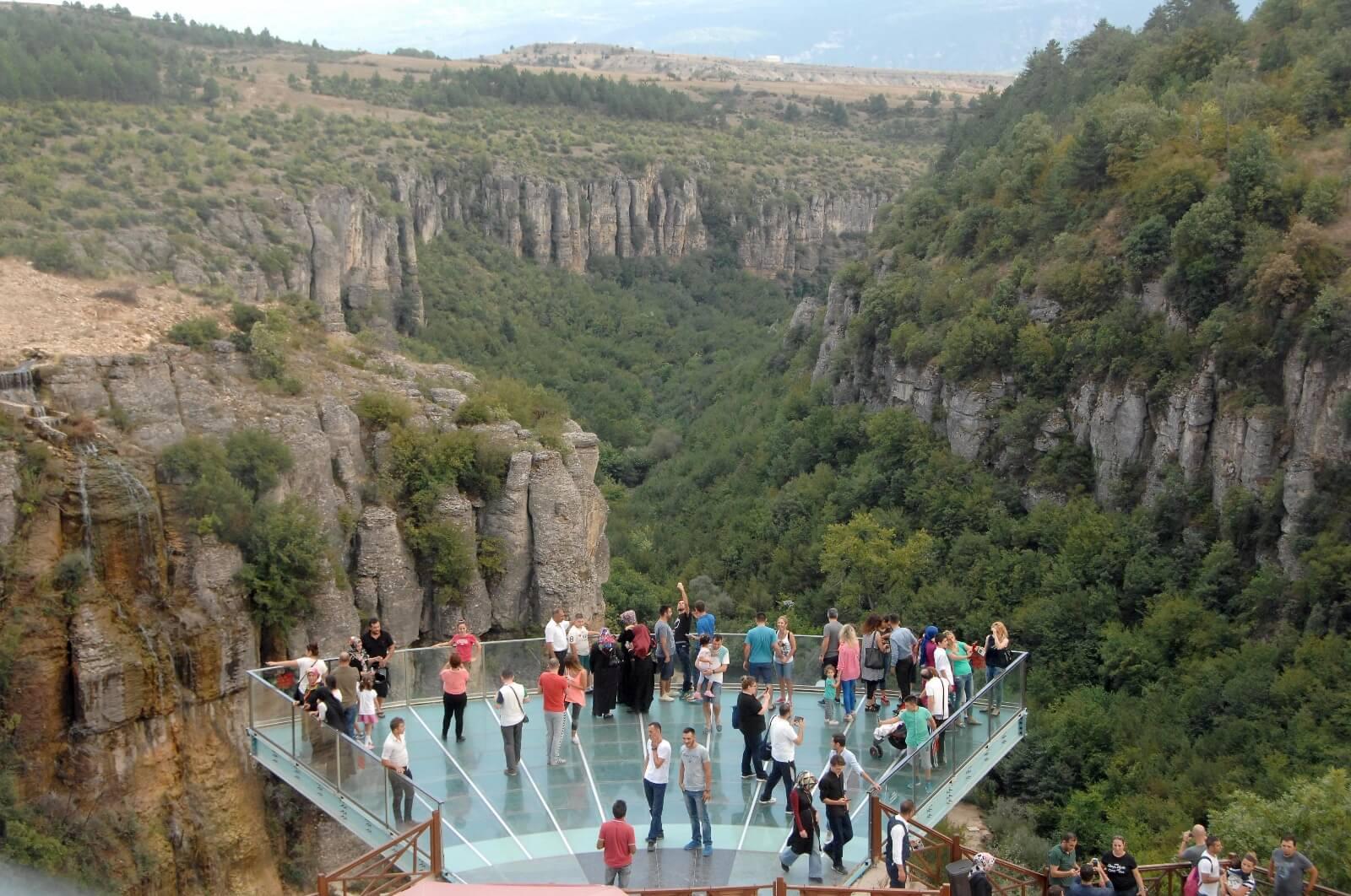الشرفة الزجاجية في تركيا