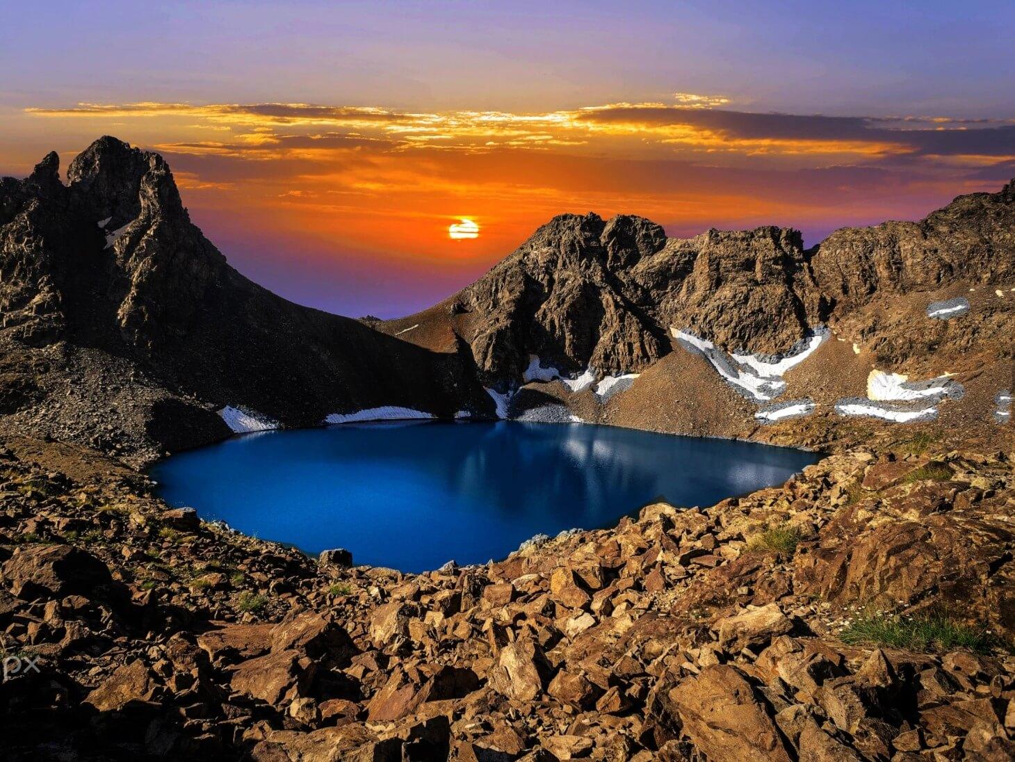 بحيرات بوزول ريزا تركيا