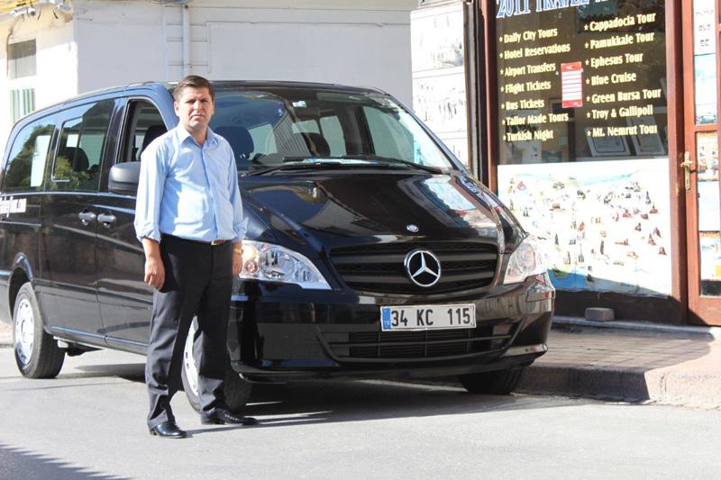 سيارة مع سائق في اسطنبول فردوس الحياة
