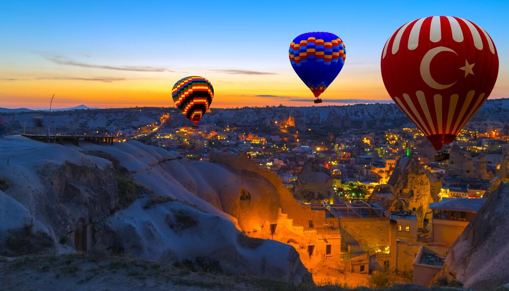 كابادوكيا تركيا