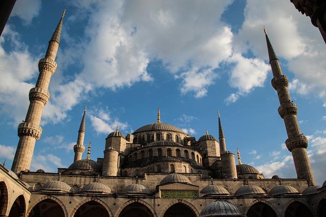 المسجد الازرق في اسطنبول