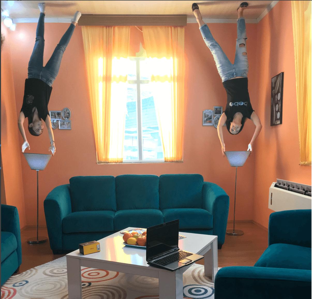 البيت المقلوب في انطاليا