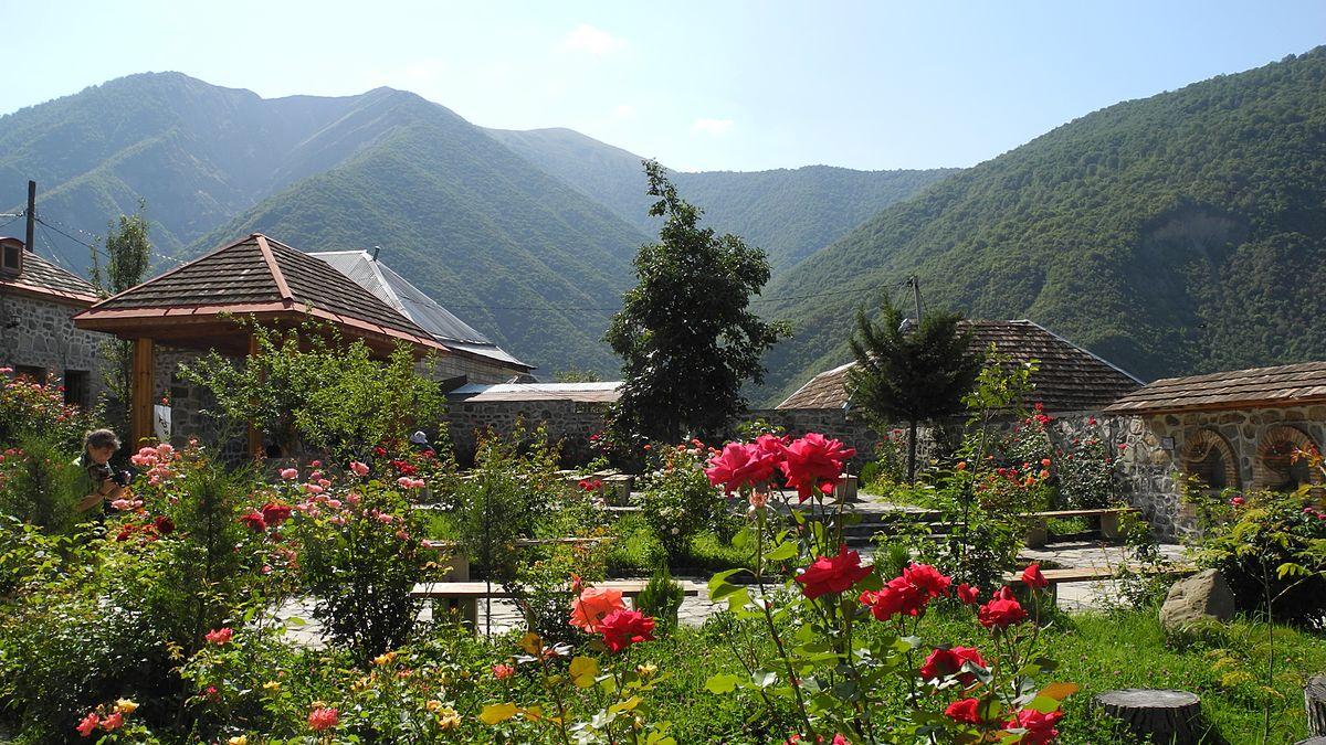 مدينة شكي اذربيجان