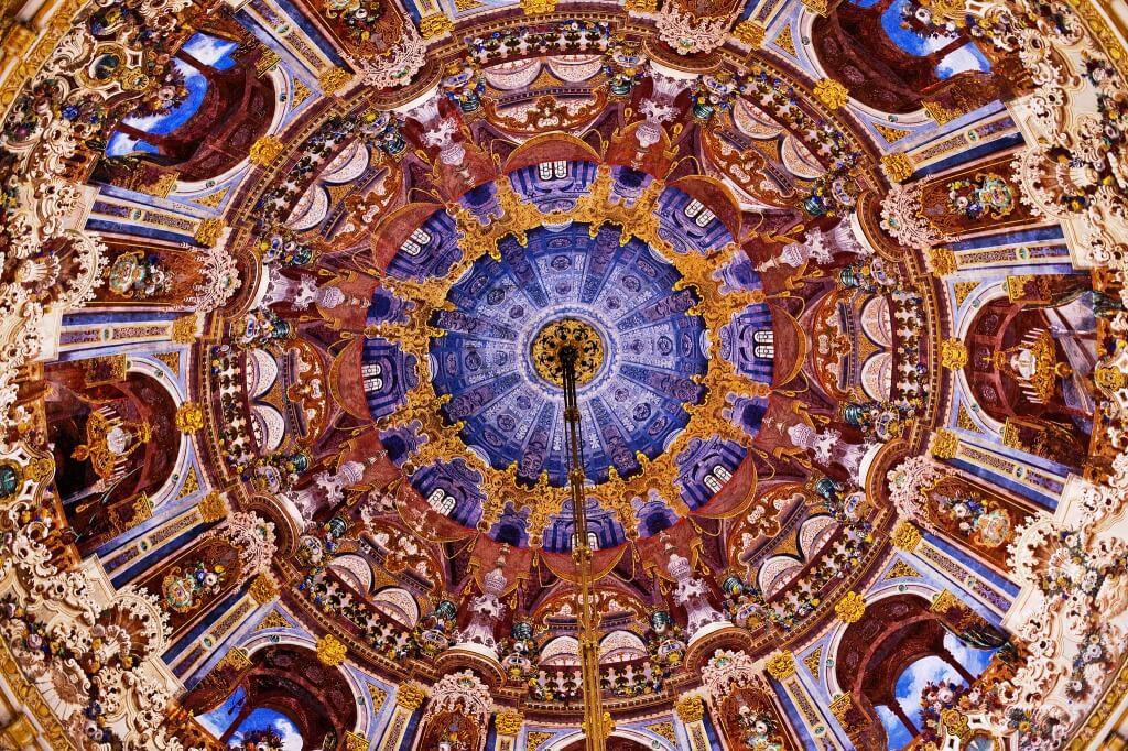 سقف قصر دولما بهتشة
